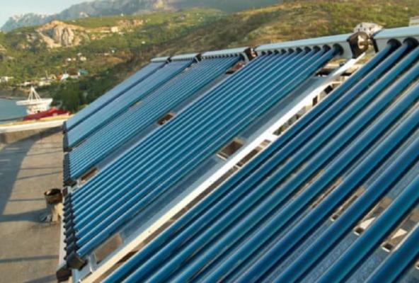 Pannelli solari collettori sottovuto
