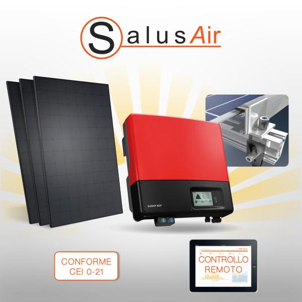 Kit impianto fotovoltaico semplice