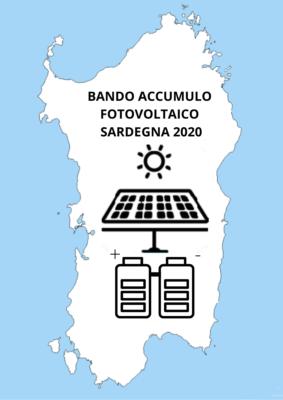 Bando accumulo Sardegna 2020